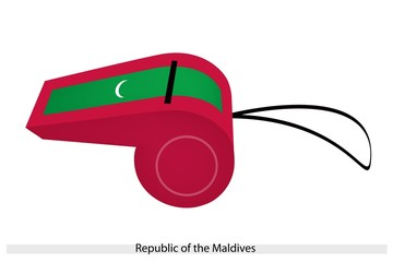 A Whistle of Republic of The Maldives