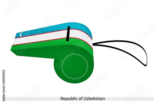 A Whistle of The Republic of Uzbekistan