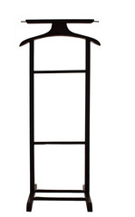 Clothes Valet Butler Coat Suit Garment Stand  isolated
