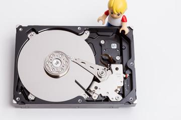 Faulty hard drive