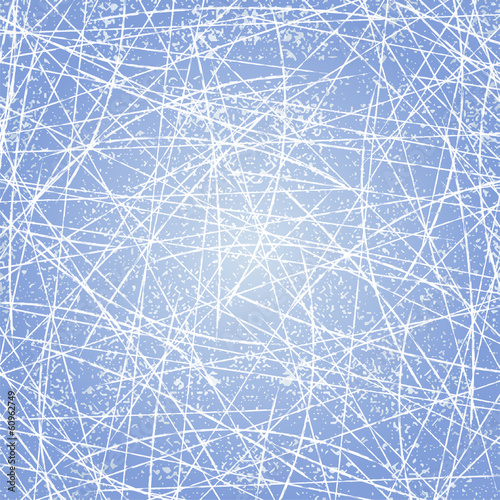 Ice texture background. Vector
