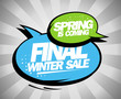 Final winter sale design with balloons