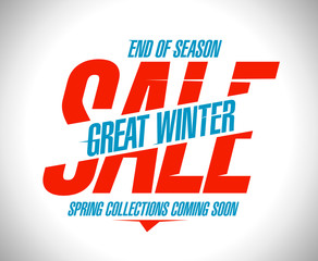 Great winter sale banner