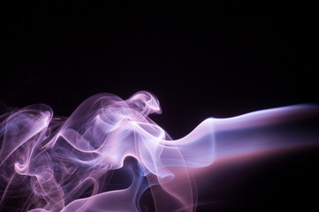 abstract smoke design