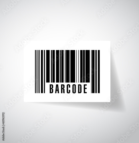 barcode or upc illustration design