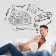 Mortgage and credit concept.