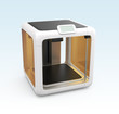 Personal compact 3D printer with touch screen control