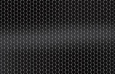 Seamless vector metal grid. Silver, Platinum