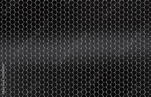 Seamless vector metal grid. Silver, Platinum