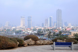 Fuzzy View of Foggy Tel Aviv