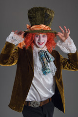 Crazy hatter from wanderland character
