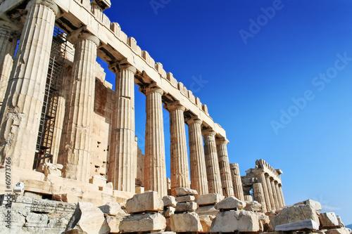 Fotobehang Athene Parthénon in Acropolis, Athens