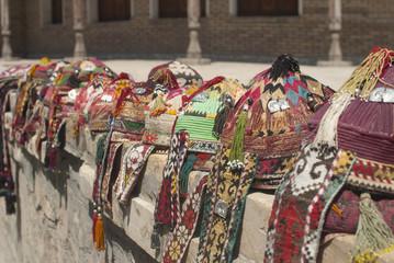 Chapeaux de danse folklorique ouzbeke