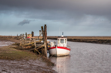 Fishing boats in Norfolk