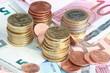 Kleingeld und Scheine