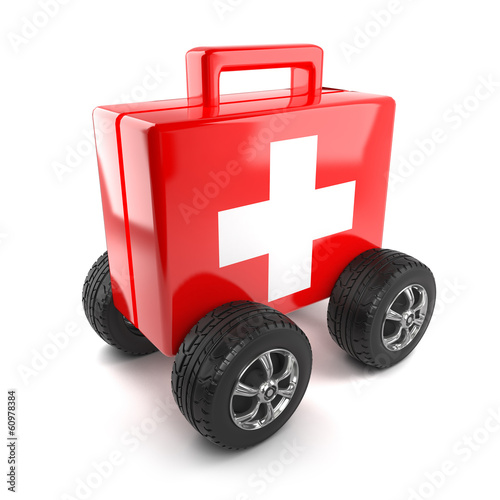 First aid on wheels