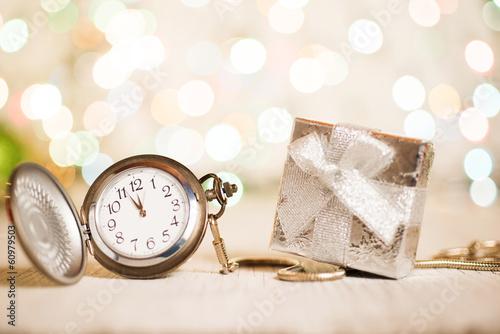 Gifts present Vintage clock