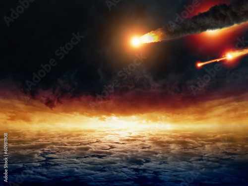 Asteroid impact - 60981908