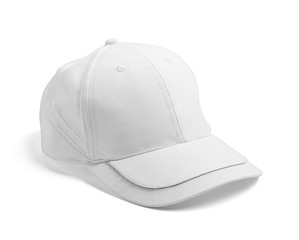 white cap template baseball blank