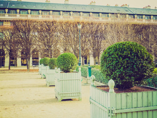 Retro look Palais Royal Paris