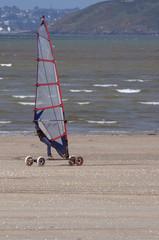Speed Sail - Planche à voile terrestre