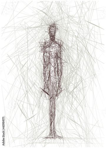 sagoma umana © robodread