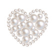 Valentines Herz Perlen - 60985399