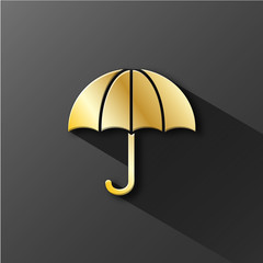 Umbrella icon (consumer protection insurance assurance life)