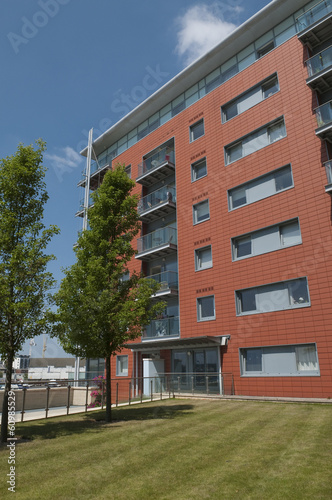 Modern waterfront apartments in Ipswich UK