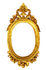 gold thai vintag frame