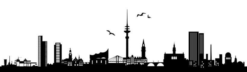 Skyline Hamburg