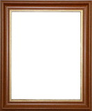 Luxurious wooden picture frame