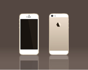 Smartphone  Gold