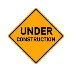 traffic sign - under construction - e492