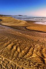 Costa del Gargano: bassa marea.-Vieste (Puglia) ITALIA-