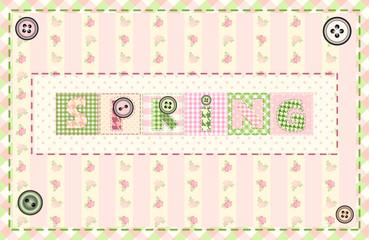 Word Spring.