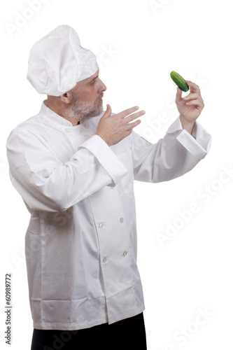 Cook and cucumber