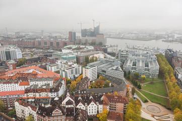 Hamburg, Hafen, Hansestadt, Speicherstadt, Ausblick, Deutschland
