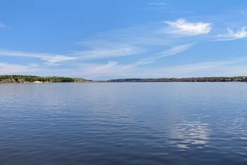 Volga river in Kineshma, Russia