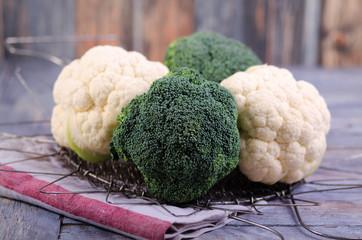 Blumenkohl mit Brokkoli
