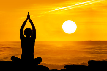 yoga sunset 2