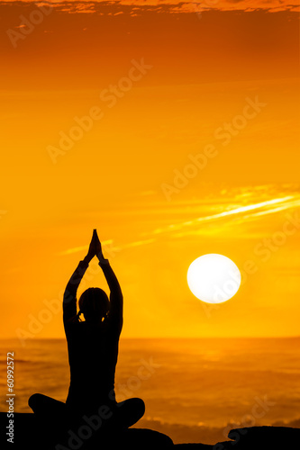 yoga sunset 1