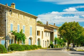 Village de Rousset-les-Vignes en Provence