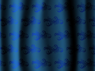 Curtain abstract