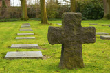 German cemetery friedhof in flanders fields menen belgium