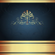 Background-Elegant Navy for Wedding or Corporate
