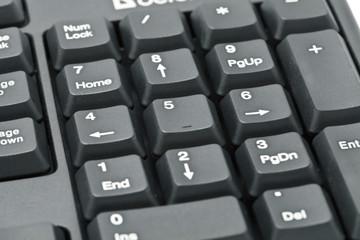 Фрагмент компьютерной клавиатуры