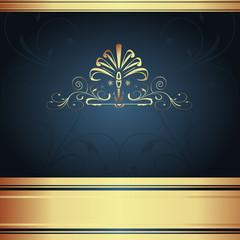 Background-Elegant Navy for Wedding or Corporate