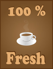 100 Percent Fresh Coffee
