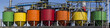 Industrial petro-chemical tanks.Big panorama. - 61000709